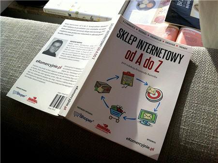 Sklep internetowy od A do Z - recenzja książki wydanej przez eKomercyjnie (2013)