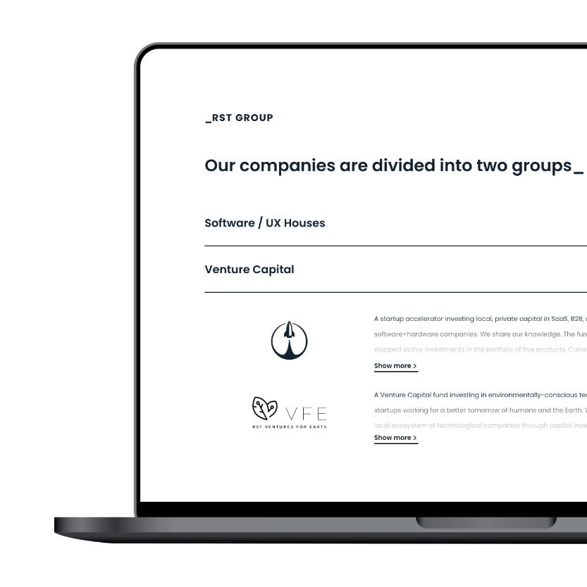 RST Group - design
