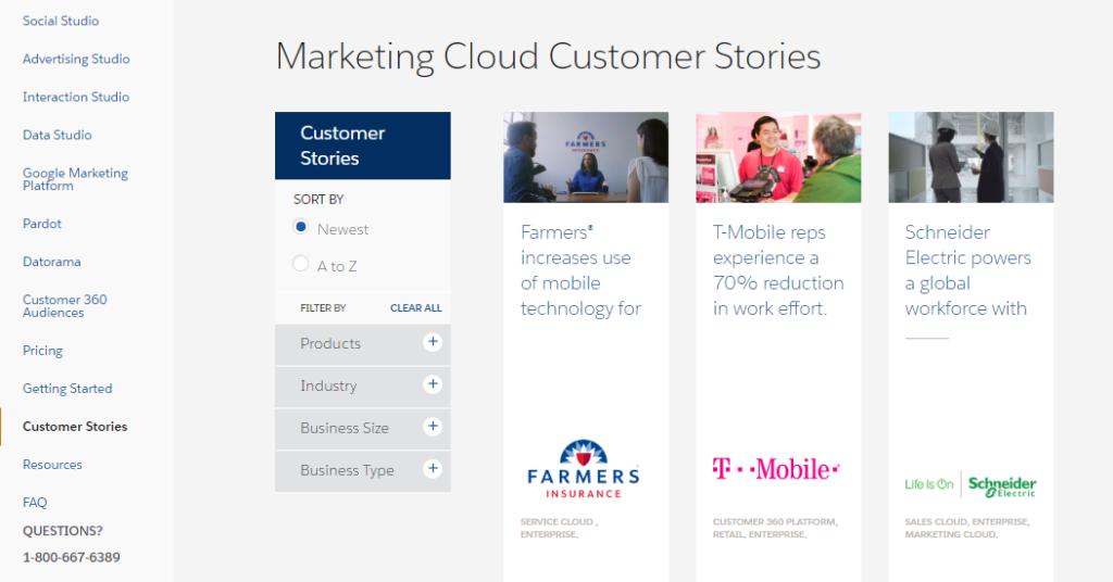 Salesforce Marketing Cloud - Usability LAB