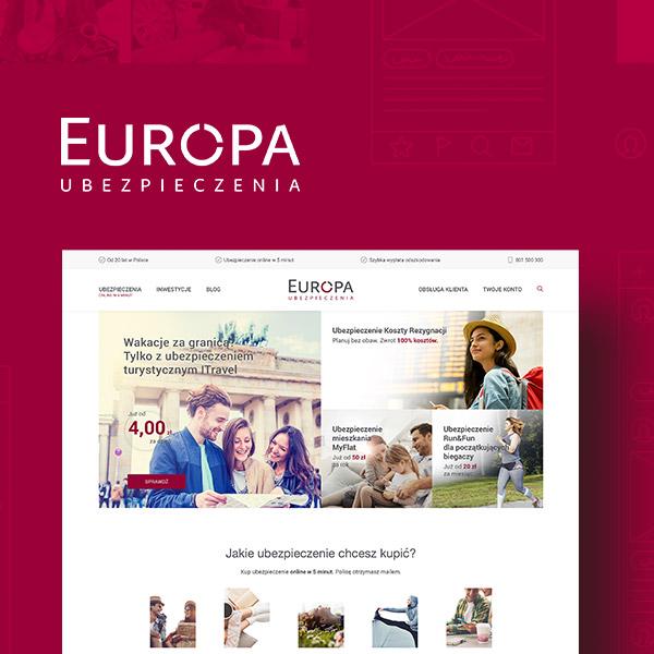 Relaunch portalu tueuropa.pl dla TU Europa - Usability LAB
