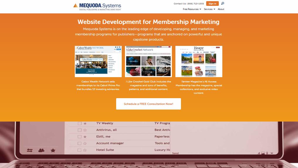 Mequoda.com - Usability LAB